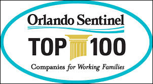 Orlando Sentinel Top 100 Companies for Working Families 2015